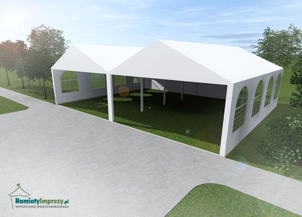 Namiot 2 szt / 5m x 8m - wzdłuż - 8m / wypożyczalnia Szczecin