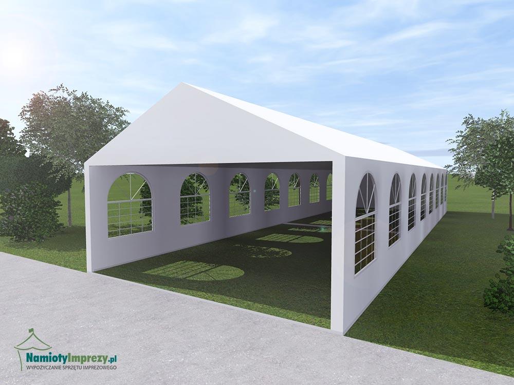 Namiot 2 szt: 5m x 8m - wzdłuż - 5m / wypożyczalnia Szczecin