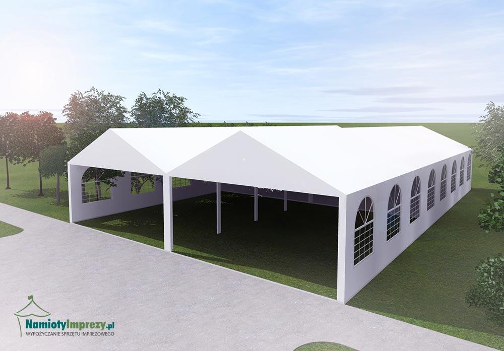Namiot 4 szt / 5m x 8m - wypożyczalnia Szczecin