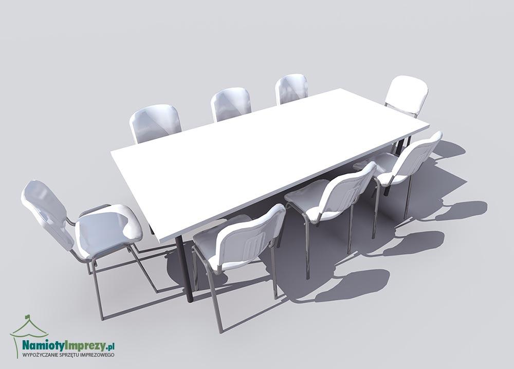 Stół prostokątny - wypożyczalnia Namioty i Imprezy